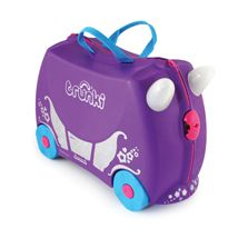 Penelope the Princess Carriage Trunki - Ride on children's suitcase Buy Luggage, Kids Luggage, Hand Luggage, Travel Luggage, Luggage Bags, Childrens Suitcases, Childrens Luggage, Princess Carriage, Modern Toys