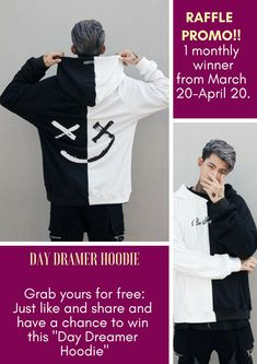 7e7e1bce0b1 get a chance to WIN this DAY DREAMIER HOODIE. Follow us on twitter for more
