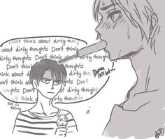 levi you pervy old man