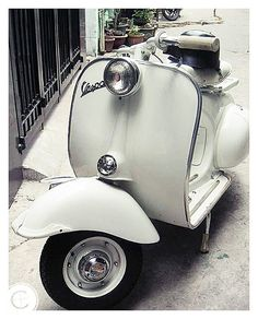 vespa, and then a pucci designed helmet A must for a perfect gud morning get around !!!