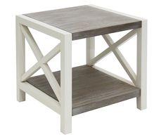 Mesa auxiliar de madera Donovan