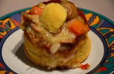 La recette des Vols au vent de poule au pot du site Les petits plats du Prince