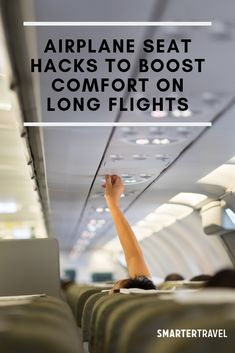 7 Expert Airplane Seat Hacks to Boost Comfort on Long Flights Airplane Seat Hacks for a More Comfort Airplane Hacks, Airplane Seats, Airplane Travel, Packing Tips For Travel, Travel Advice, Travel Hacks, Travel Bag, Have A Good Flight, Disneyland World
