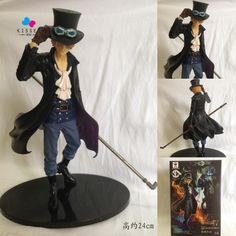 39.97$  Watch here - http://alijis.shopchina.info/go.php?t=1000001198453 - Kissen Anime One Piece DXF Sabo Figure Toy PVC Action Collectible Model Doll Toys  24cm Great Gift  #aliexpresschina