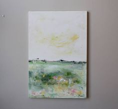 24x36 modern art painting on canvas Abstract