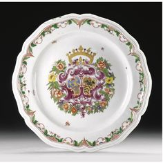 A DOCCIA PORCELAIN DISH FROM THE MARANA ISOLA SERVICE, CIRCA 1750 SOLD. 15,000 EUR Sotheby's