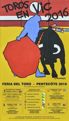 les cartels de vic 2016 - feria del toro