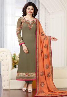 #Kaseesh #Prachi Indian #SalwarKameez Suit Vol17 3664 #Green