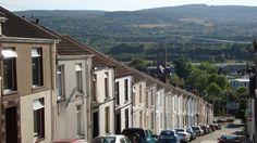 Street of Merthyr Tydfil