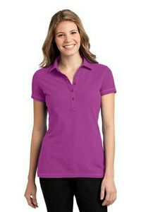 Port Authority Ladies Modern Stain-Resistant Pocket Polo