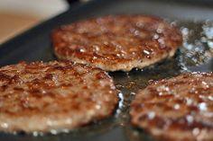 Venison Sausage Recipes, Tvp Recipes, Homemade Sausage Recipes, Homemade Breakfast Sausage, Breakfast Recipes, Cooking Recipes, Vegan Breakfast, Sausage Gravy, Low Sodium Turkey Sausage Recipe