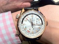 Zenith Pilot Doublematic World Timer - fabulously charismatic piece, with an El Primero beating away inside of course.