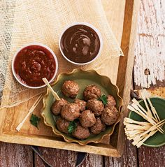 Tell your mother's meatball recipe to move over: there's a new kid in town. Spice up a classic favorite with a unique blend of tastes that will be sure to bring a flavorful burst of excitement to any table.
