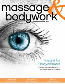Have you seen it?? Cover story on Massage & Bodywork Mag this month by our very own Mary Rose!