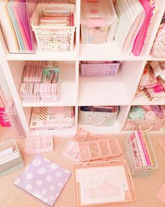 Omg @hello_sugarlove has the nerve to ask #widn !! Jk honestly trying to reorganize my #kallax shelves from #ikea! I got these super cute organizers from #daiso and so I'm trying to rearrange everything around them lol. I tag @miss.crafty.kaila @_something.pretty @loveallprettythings @ilove.ice #kikkik #plannerroom #craftroom #plannerlove by jnly