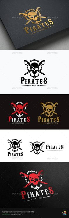 Pirates — Photoshop PSD #sport #american football • Available here → https://graphicriver.net/item/pirates/17512167?ref=pxcr