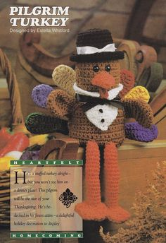 Thanksgiving Turkey Crochet Pattern - Crochet Home Magazine