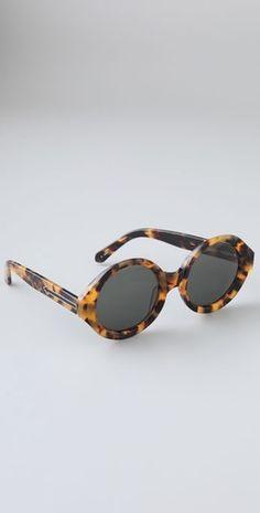 Karen Walker Number Six Sunglasses, $180 at shopbop.com