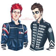 "poweredbycokezero: "" joshler-squad YOU CALLED? I actually made two other versions because I couldn't decide how I wanted Tyler to look lmao so here you go: Blurryface TBP, and Tyler with white..."