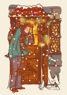 Ron animated christmas gif by RaRo81