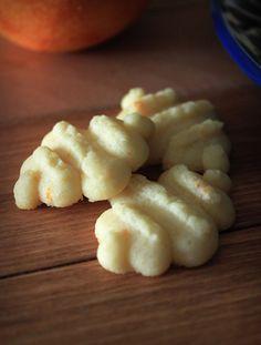 The Busty Baker: Orange Spritz Cookies