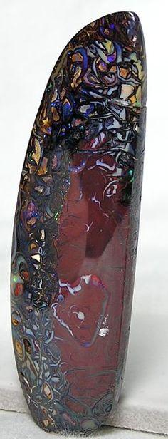 Red Boulder Opal