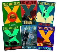 Camp X Book Series Bundle Book Series, Book 1, Gold Book, Shell Shock, Fool Gold, World War Ii, The Fool, Camping, World War Two