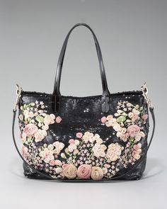 Valentino Glamourous Floral Tote