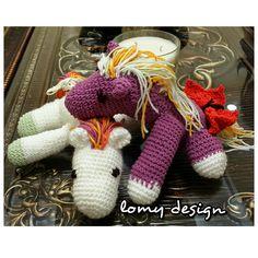 lomy design: horsey horsey Cute crochet horse .. you can order one from lomy design  Lomy_design on instagram