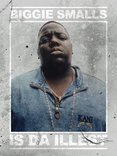 Christopher Wallace  Biggie Smalls (rapper) Repinned by www.smokeweedeveryday.org