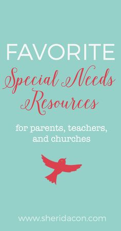 My all new, updated resource list for special needs! If you're overwhelmed by all the information out there, come check it out! I've already done the legwork for you!