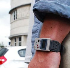 i would totally rock this!    Go Retro With The Game Boy Mini Watch