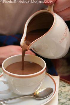 Best Hot Chocolate in Paris