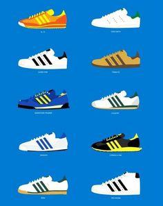 best service 7a601 25850 Zapatillas Vintage, Zapatos Antiguos, Zapatillas Adidas, Adidas Originales,  Entrenadores, Promoción