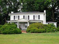 $10,000 c1860 Greek Revival;  2950 sq ft Henderson, North Carolina www.presnc.org/properties/hillman-barnes-house-structure/