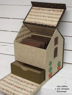 Новости Easy Diy Crafts, Fun Crafts, Cardboard Crafts, Paper Crafts, Foam Board Crafts, Creative Box, Fun Fold Cards, Sewing Box, Diy Box
