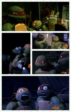 Raph and mikey moments. Best turtles EVER! <<<The top one HAS to be my fave, where Mikey is relaxing around and Raph is smiling uncontrollably to the fact his little brother is wearing Tightie Whities. <3