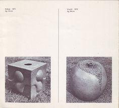 1972, Hans de Jong at Gallery Fenna de Vries...
