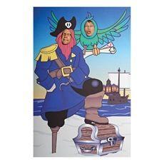 Captain Hook Portrait Prop