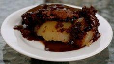 Chocolate Pear Pudding - so simple and enjoyable