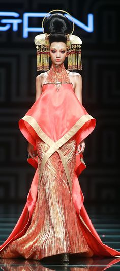 Mao Geping Image-design Art School S/S 2015 China Fashion Week in Beijing
