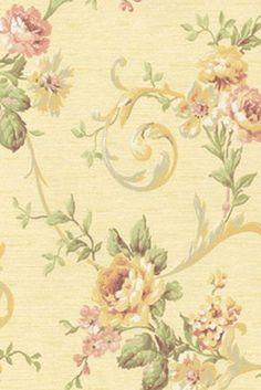 Wallpaper Sample Victorian Feminine Cabbage Rose | eBay