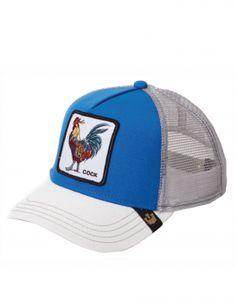 03ca261b Goorin Bros. Gallo Trucker cap - Royal Blue Hats For Sale, Cotton Canvas,