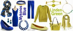 Pantone Fall 2013 Color Trends Mykonos Blue and Linden Green