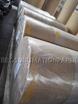 Our 60gsm Jumbol Roll Sublimation Paper 2500m & 10000 meters. Well-packed with paper, plastic foil, bubble film to protect them. No worry about the shipment.  www.brosublimationpaper.com    www.dyesublimationchina.com