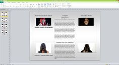 PRESENTATION/EVALUATION: Publisher has enabled me to create templates for my evaluation questions and mood board, due to the freedom of publishers layout. By allowing me to space the images with the evaluation is creates easy reading and comparison.