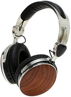 Symphonized Wraith 20 Bluetooth Genuine Wood Wireless Headphones with 35mm Cable Included for Wired Use Walnut Wood >>> To view further for this item, visit the image link.