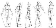 .great way to introduce shape with fashion design