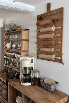 Hereinspaziert! 10 neue Wohnungseinblicke | Foto von Mitglied Miezenmama #SoLebIch #küche #kitchen #holz #wood #fachwerk #truss