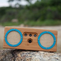 Fancy | Bongo Bamboo Wood Speaker -- Venice Beach